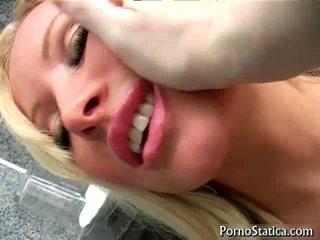 Girl With Huge Boobs Sucks Cock